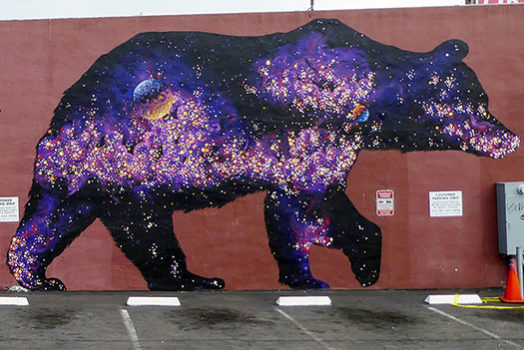 Endangered Species Mural #14: A Bear-Shaped Hole