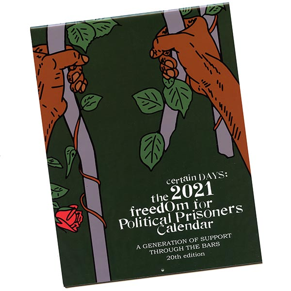 Certain Days: 2021 Freedom for Political Prisoners Calendar