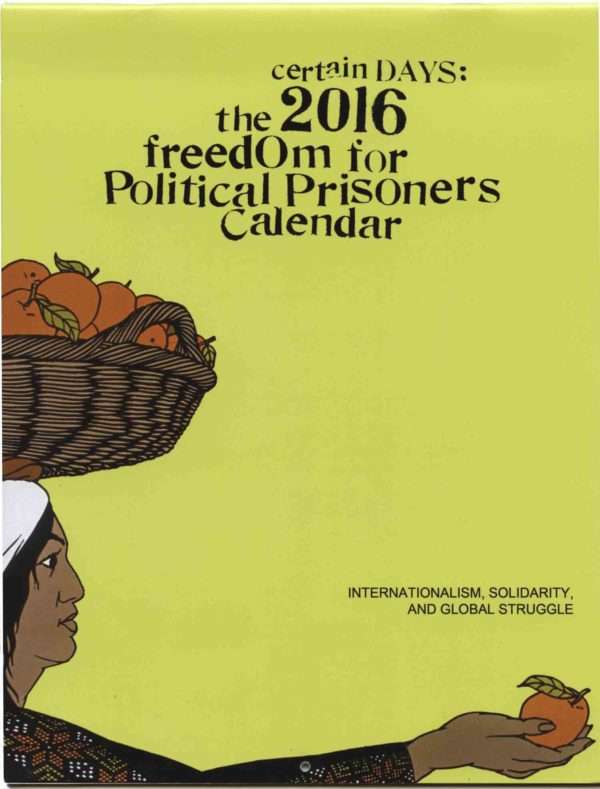 Certain Days 2016: Freedom for Political Prisoners Calendar