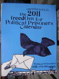 2011 Certain Days Calendar hot off the press