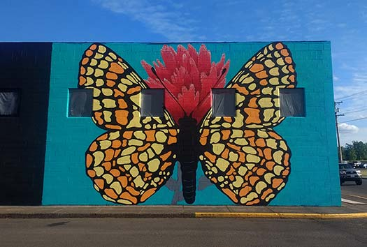 Taylor's Checkerspot Mural Unveiling
