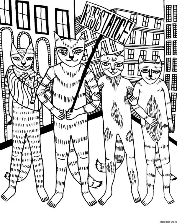 Cooperation Cats: Love, Resistance, Justice