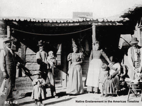 Native Enslavement in the Americas Timeline