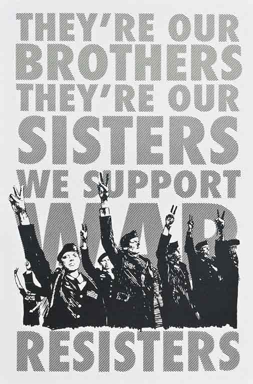 We Support War Resisters