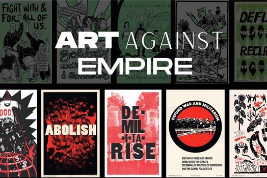 Art Against Empire: DE-MIL-I-TA-RISE Portfolio & Zine Launch Party
