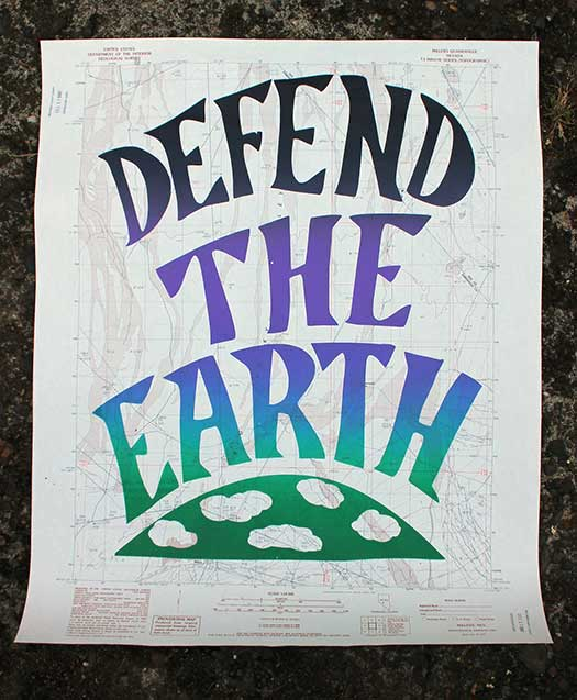 Maps: Defend The Earth