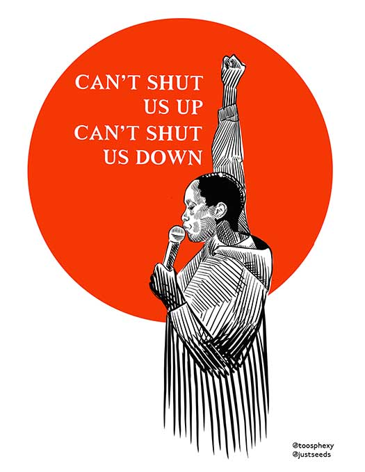 Can't Shut Us Up, Can't Shut Us Down
