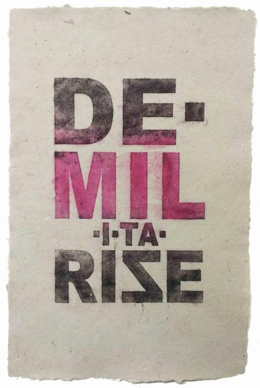 DE•MIL•I•TA•RISE