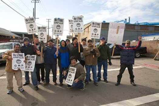 Foundry Workers Strike