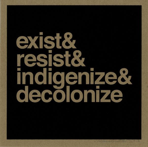Exist&Resist