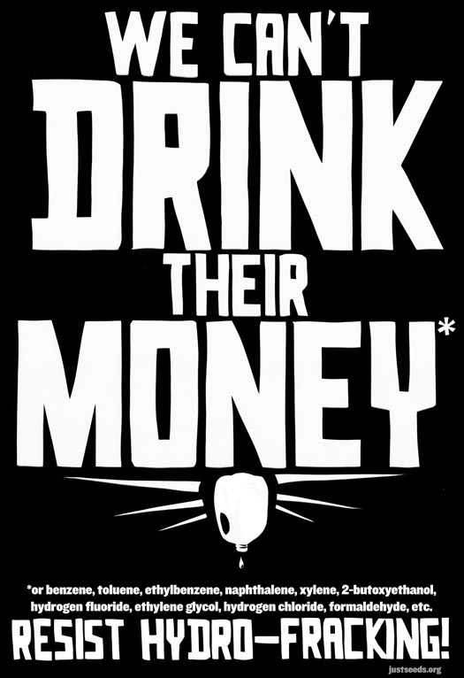 We Can't Drink Their Money!*