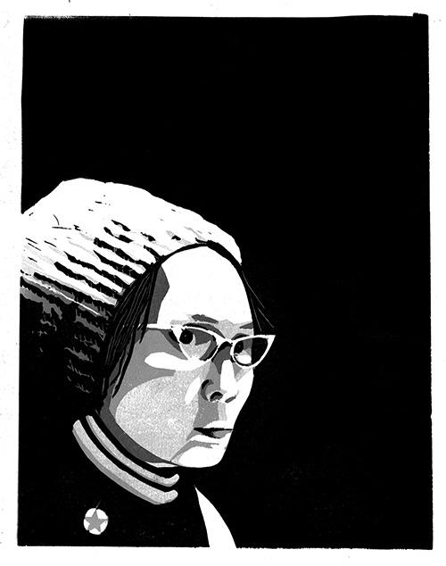 Portrait of Yuri Kochiyama
