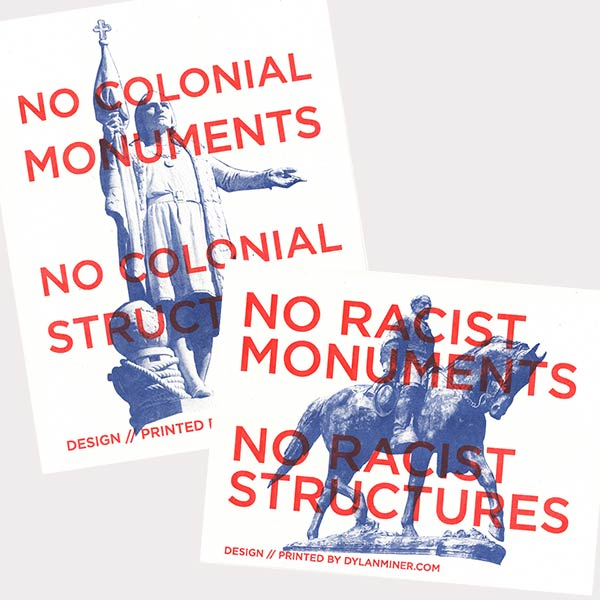 No Racist/Colonial Monuments