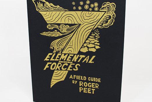 7 Elemental Forces, an artist book