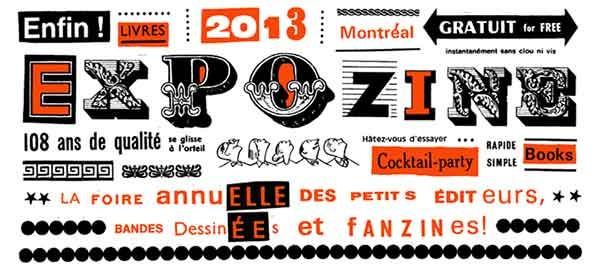 Montreal: Expozine