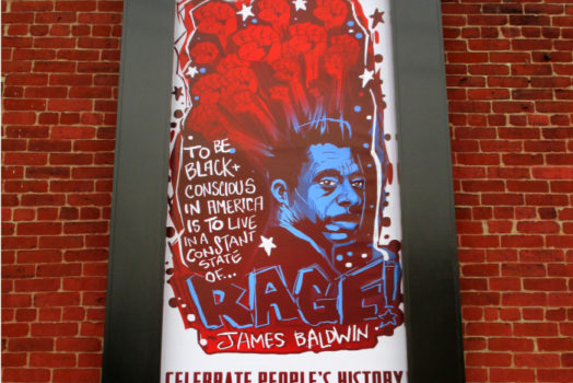 James Baldwin Mural in Pittsburgh