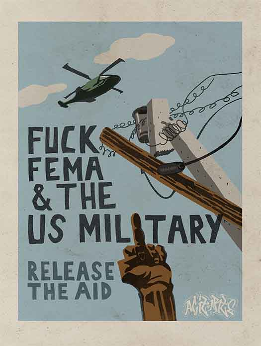 Fuck FEMA & The U.S. Military
