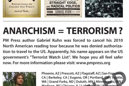Gabriel Kuhn & the No-Fly List