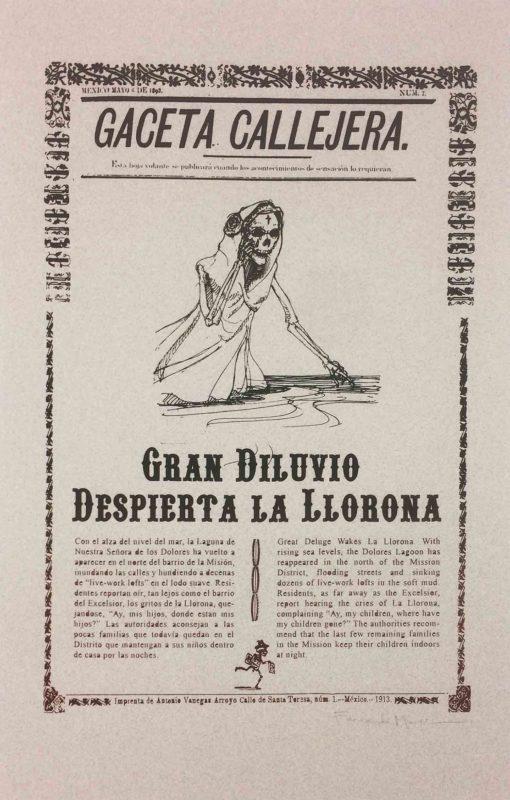Gaceta Callejera 2: La Llorona