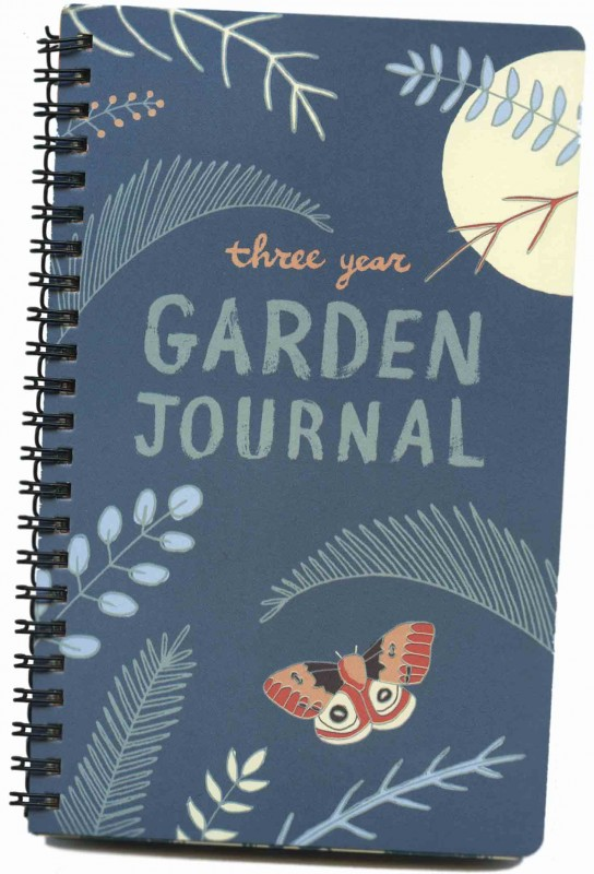 3-Year Garden Journal