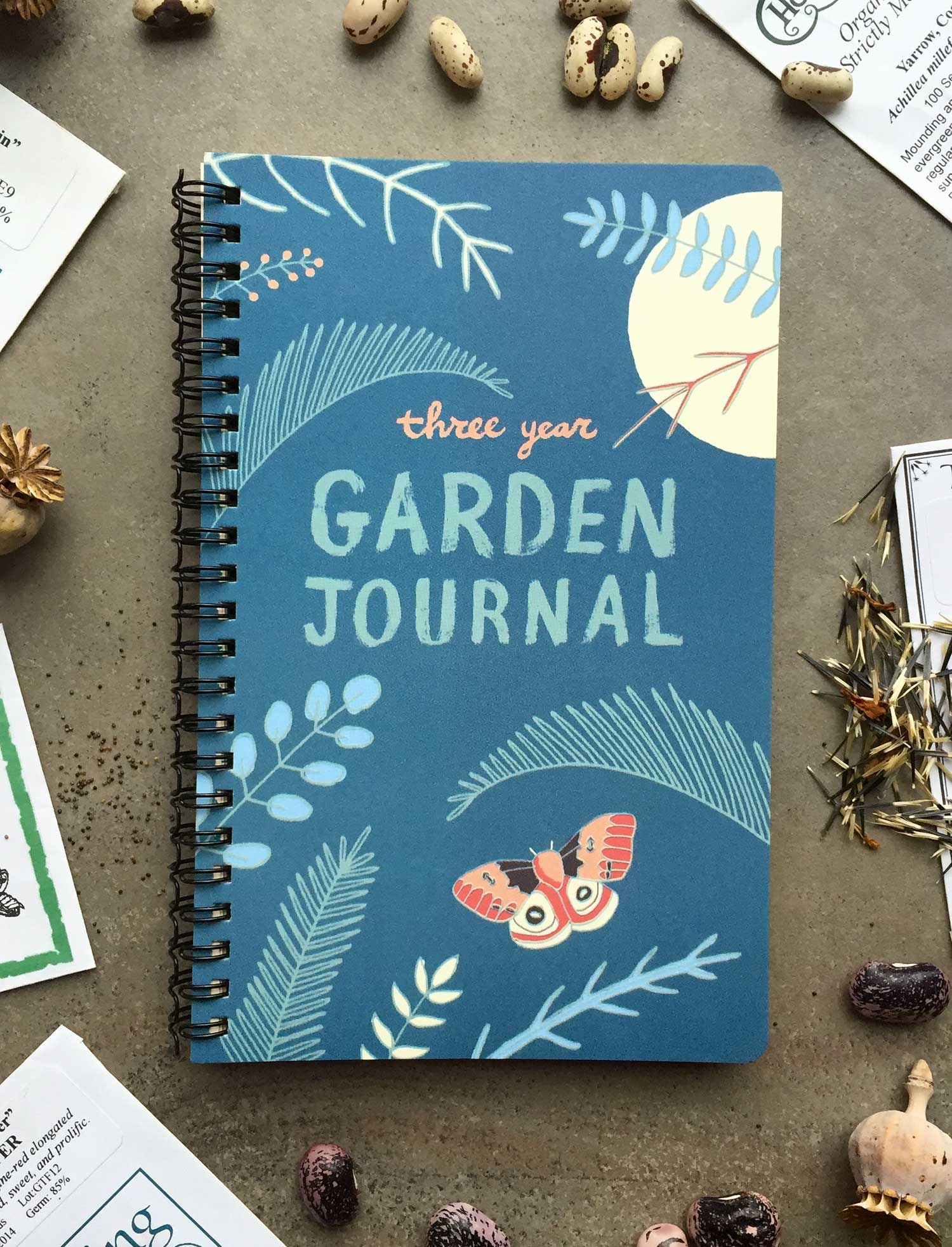 Justseeds 3 Year Garden Journal