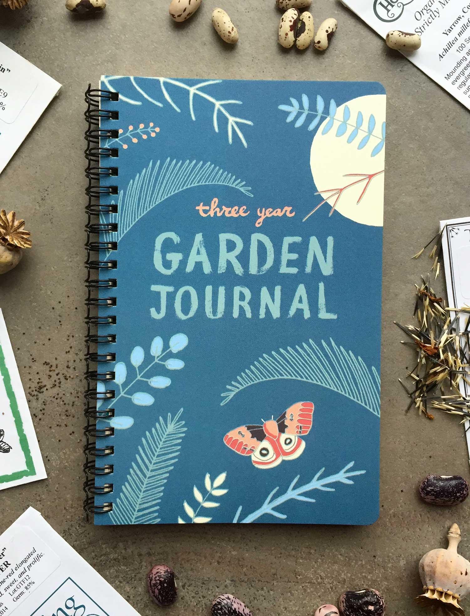 3 year garden journal