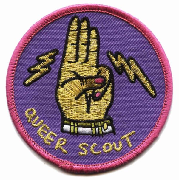 Queer Scout Badge (Gold)