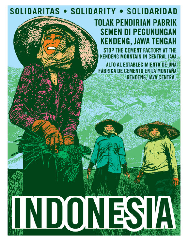 Solidarity with Indonesia