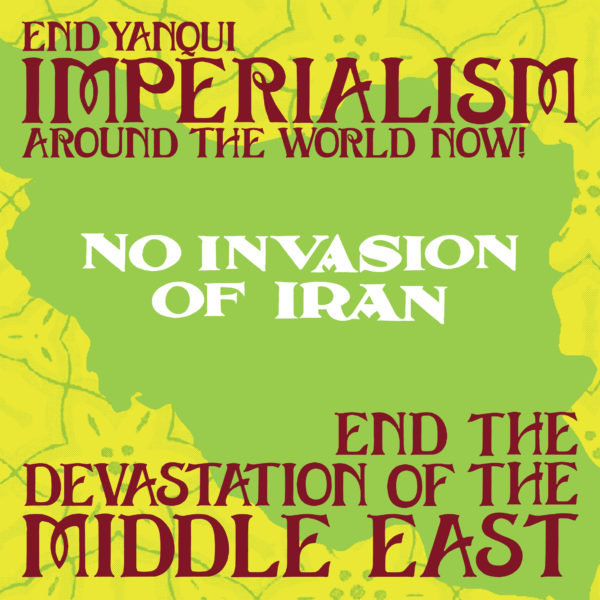 No Invasion of Iran