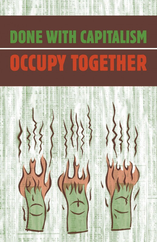 Occupy Poster Download: Dancing Dollars