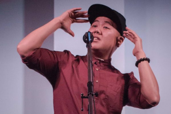 Kit Yan is a New York based spoken word artist from Hawaii. Kit performs theatrical slam poetry pieces about his life as a queer, transgender, and Asian American through stories about family, love, and social justice. Kit has been seen on television programs such as HBO's Asian Aloud and PBS' Asian America. Kit's poetry has been reviewed in New York, Bitch, Curve, and Hyphen magazines and he has toured internationally with Sister Spit, The Tranny Roadshow, and Good Asian Drivers. Kit's work has recently been featured in Flicker and Spark and Troubling the Line- two new queer and transgender poetry anthologies and has a forthcoming book with Transgenre Press. His recent performances include headliner at the True Colors Youth Conference, headliner at the New England Queer People of Color Conference, and the Brooklyn Museum.
