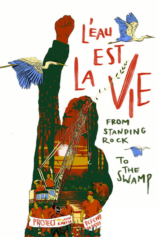 L'eau Est La Vie, From Standing Rock To The Swamp