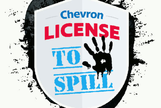 License to Spill: an anti-Chevron comic