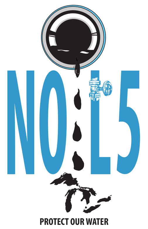 No Line 5! Protect our Water