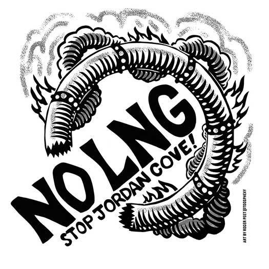 NO LNG! Stop Jordan Cove