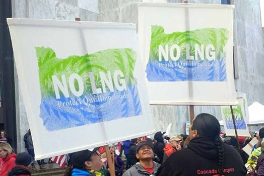 NO LNG Rally in Salem
