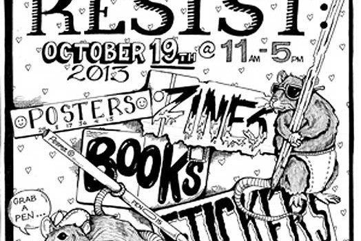 Justseeds at Print and Resist: Madison