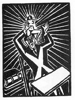 Frans Masereel's The Idea, Animated
