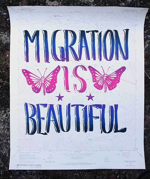 Maps: Migration Is Beautiful