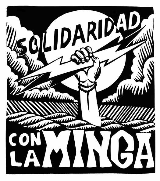 Solidaridad con la Minga