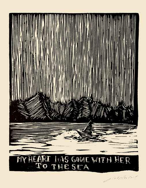 My Heart has Gone With Her to the Sea