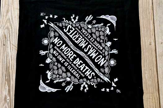 No More Deaths bandana