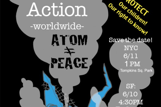 No Nukes, Actions Worldwide!