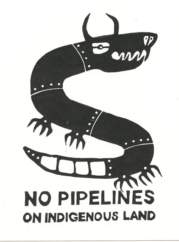 No Pipelines On Indigenous Land