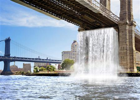 Waterfalls in NYC