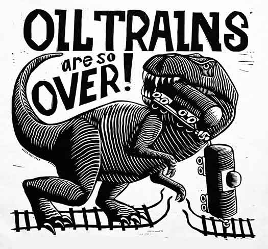 Oil Trains Are Over