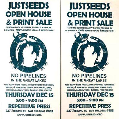 Justseeds Toronto Open Studio & Print Sale