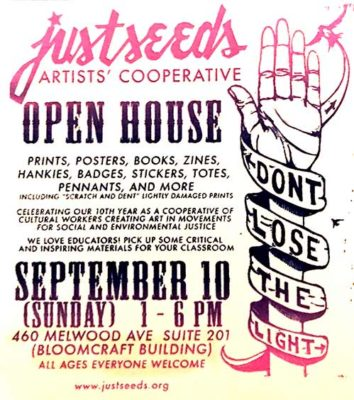 Justseeds Pittsburgh Open House