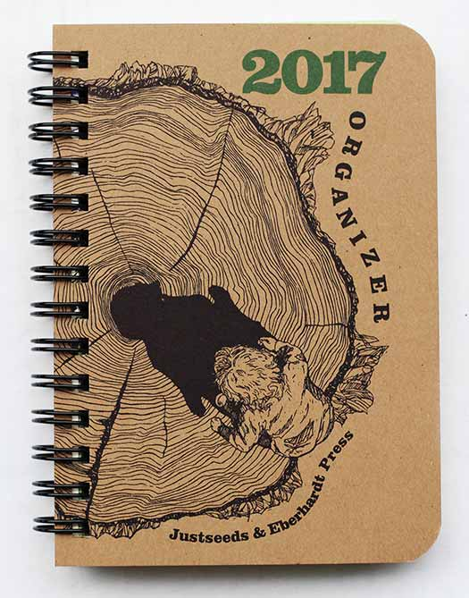 2017 Justseeds/Eberhardt Press Organizer (Small)