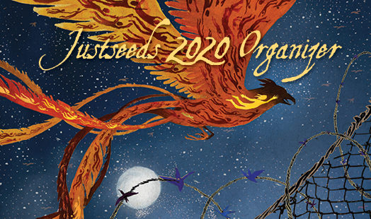 Pre-sales for the 2020 Justseeds Organizer are NOW!